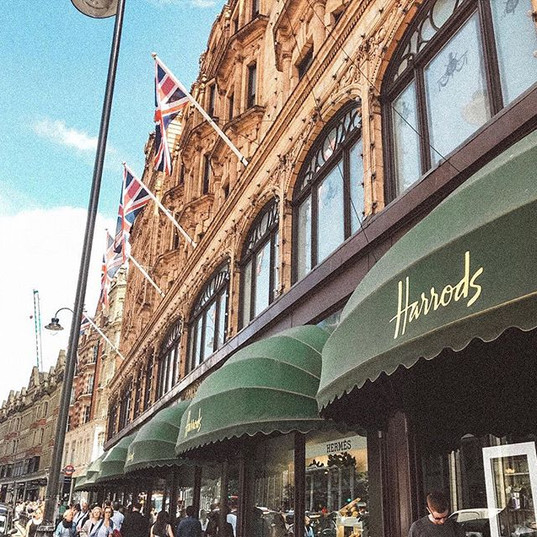 Harrods was so epic guys! The food secti