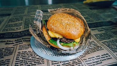 V8 Roadhouse Burger