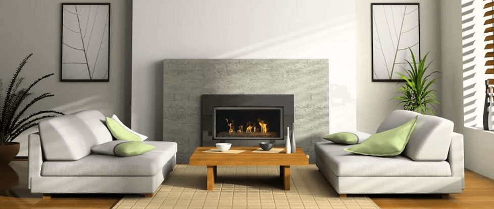 Savannah gas fireplace Elite BL21