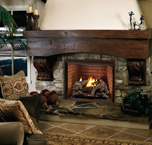 Superior gas fireplace VRT4000