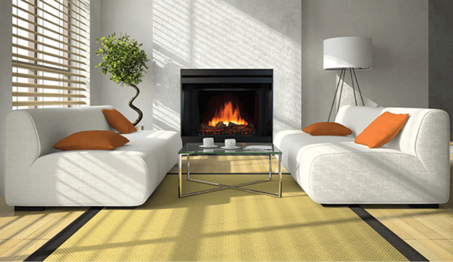 Electric Superior fireplace ERT3036