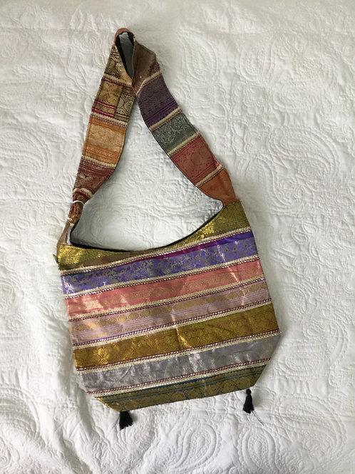 Sac indien de tissus multicolores #3