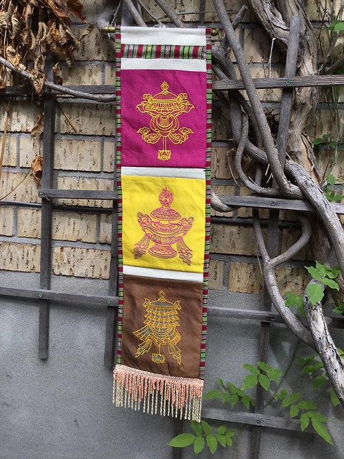 Bannière murale avec pochettes(3)