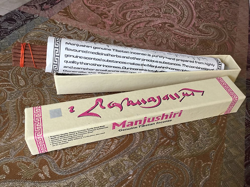 Tibetan Incense Manjushri