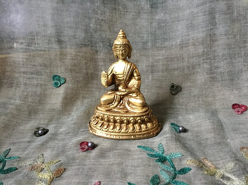 Statue of Buddha with protection mudra