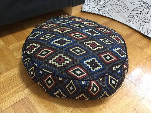 Meditation cushion handmade in Tibet