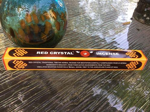 Tibetan Red Crystal Incense