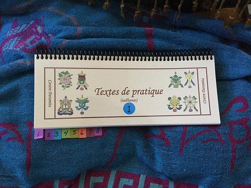 Textes de 23 pratique (2 volumes)