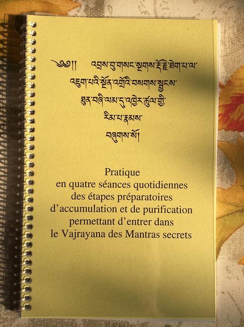 Pratique des étapes préparatoires , Ngundros