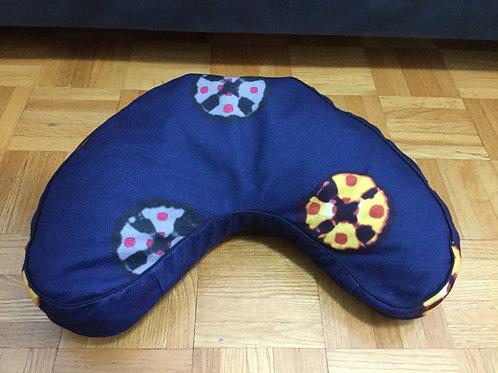 Meditation cushion handmade in Tibet blue