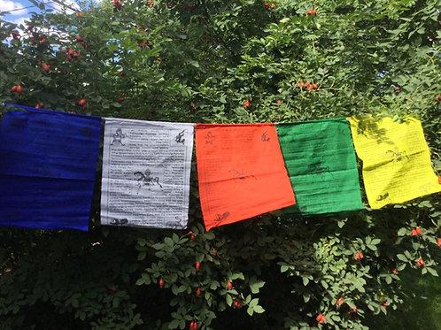 Drapeaux de prière Cheval de vent (grand)