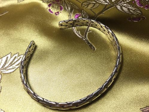 Bracelet en laiton tressé ajustable