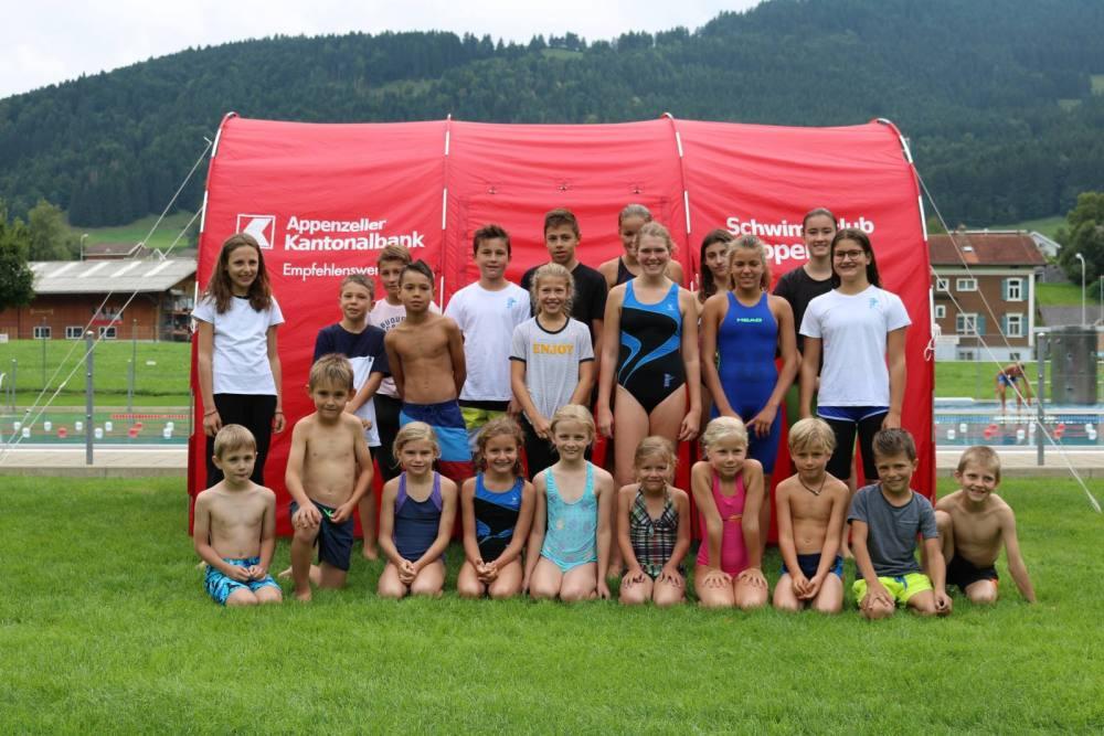 Das Rekordschwimmen ist gleichzeitig auch der Jahresanlass des Schwimmclubs Appenzell.