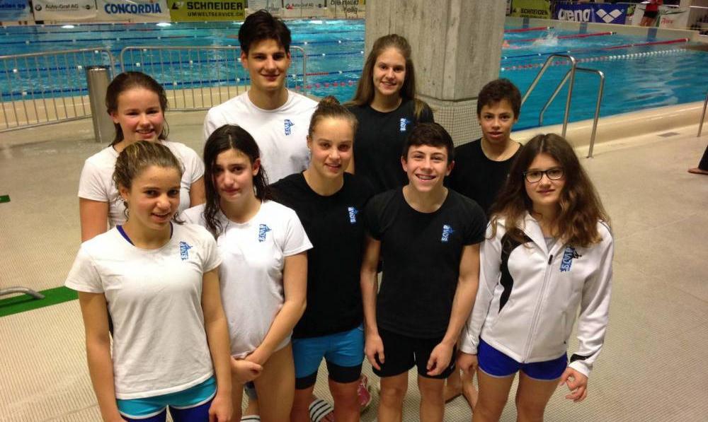 Die SCAP-Schwimmer gaben in Meilen ihr Bestes.