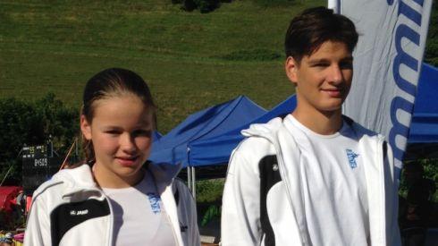 Alexa Kid und Christof Stäger für Appenzell im Einsatz.