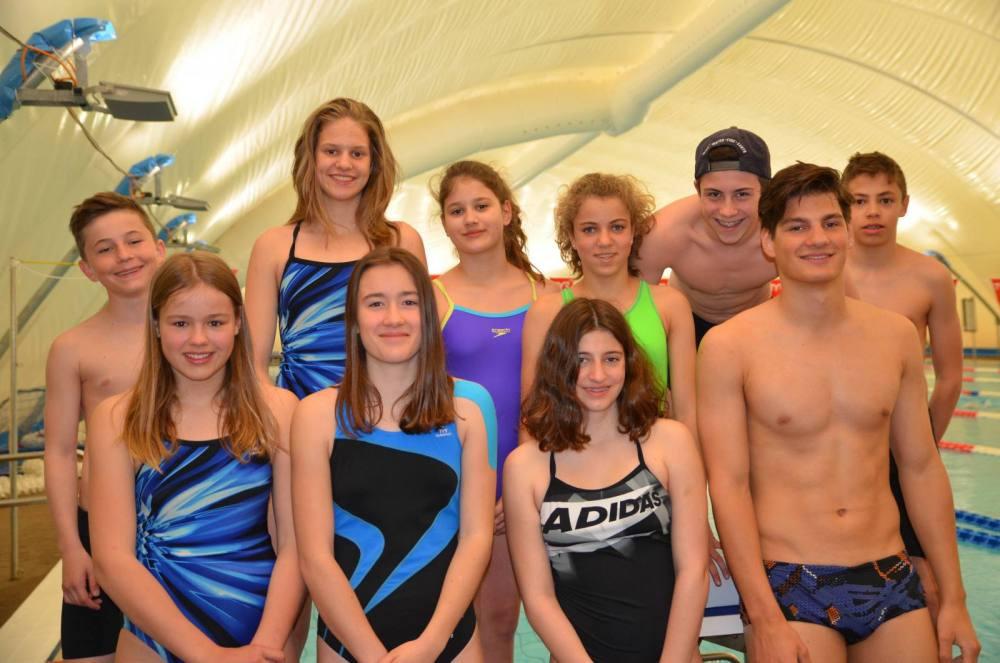 SchwimmerInnen des Schwimmclub Appenzells trainierte im Tessin.