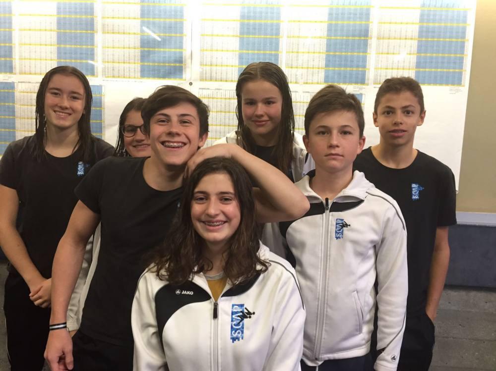 Die SCAP-Teilnehmer an den regionalen Hallenmeisterschaften in Chur