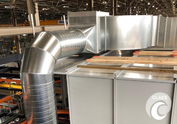 Industriële ventilatie
