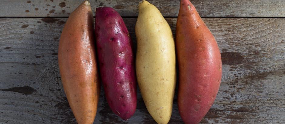 The most versatile vegatable - sweet potatoes