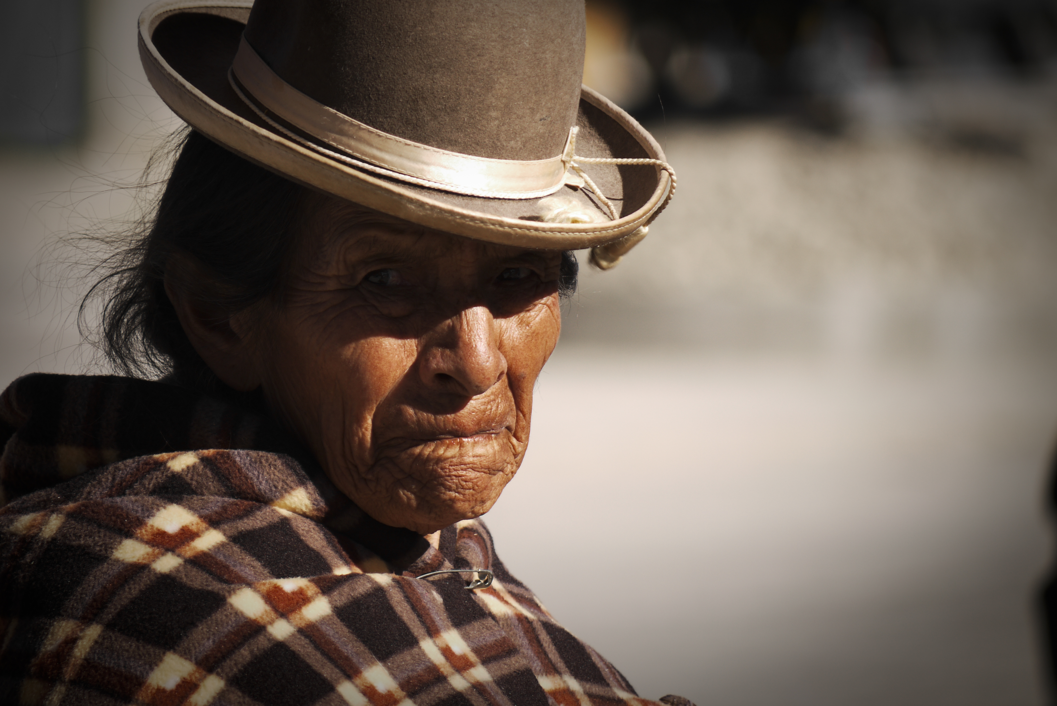 Old woman // Bolivia