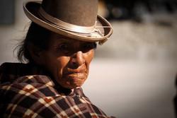 Old woman // Bolivia