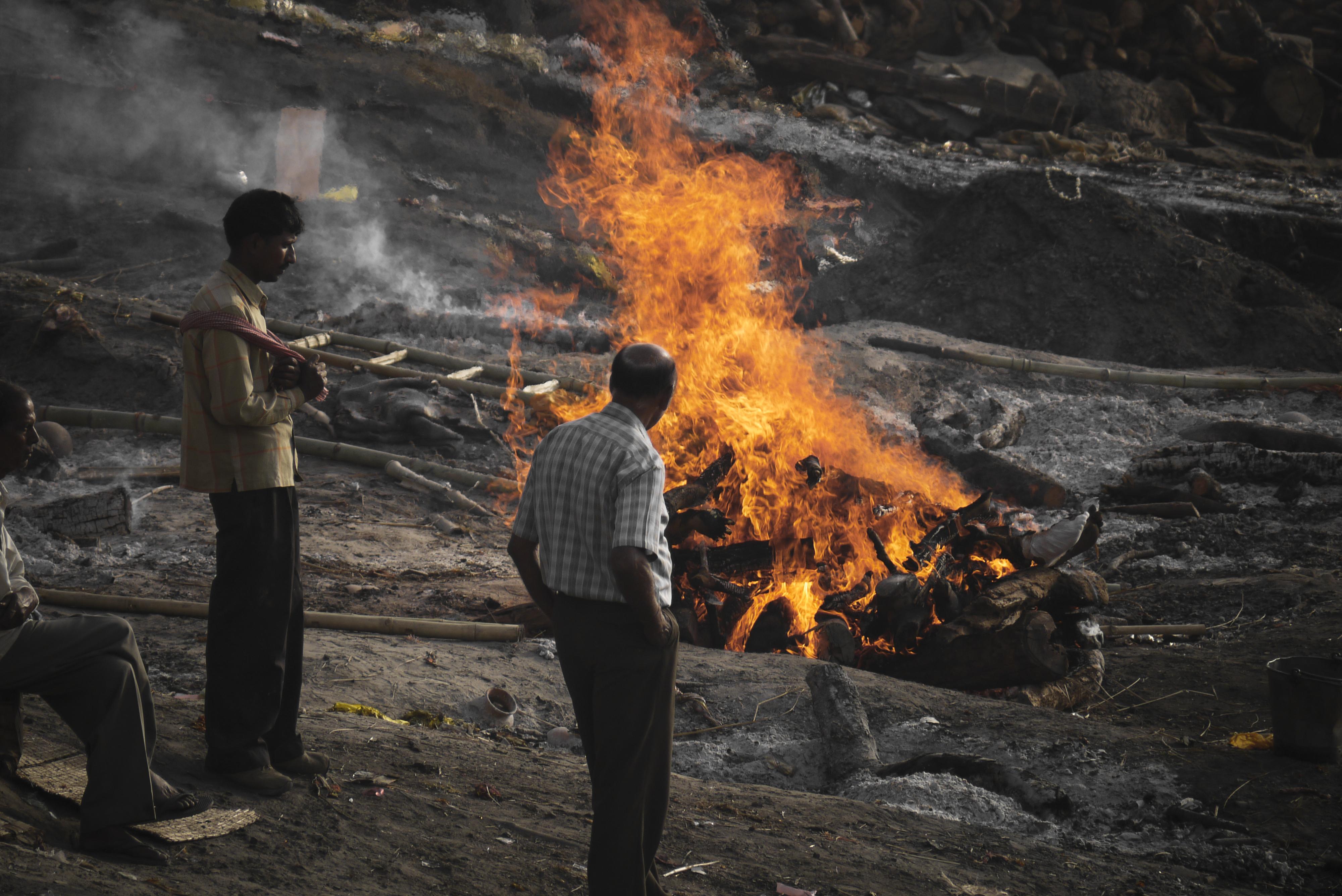 Cremation // India