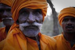 Khum mela pilgrims // India