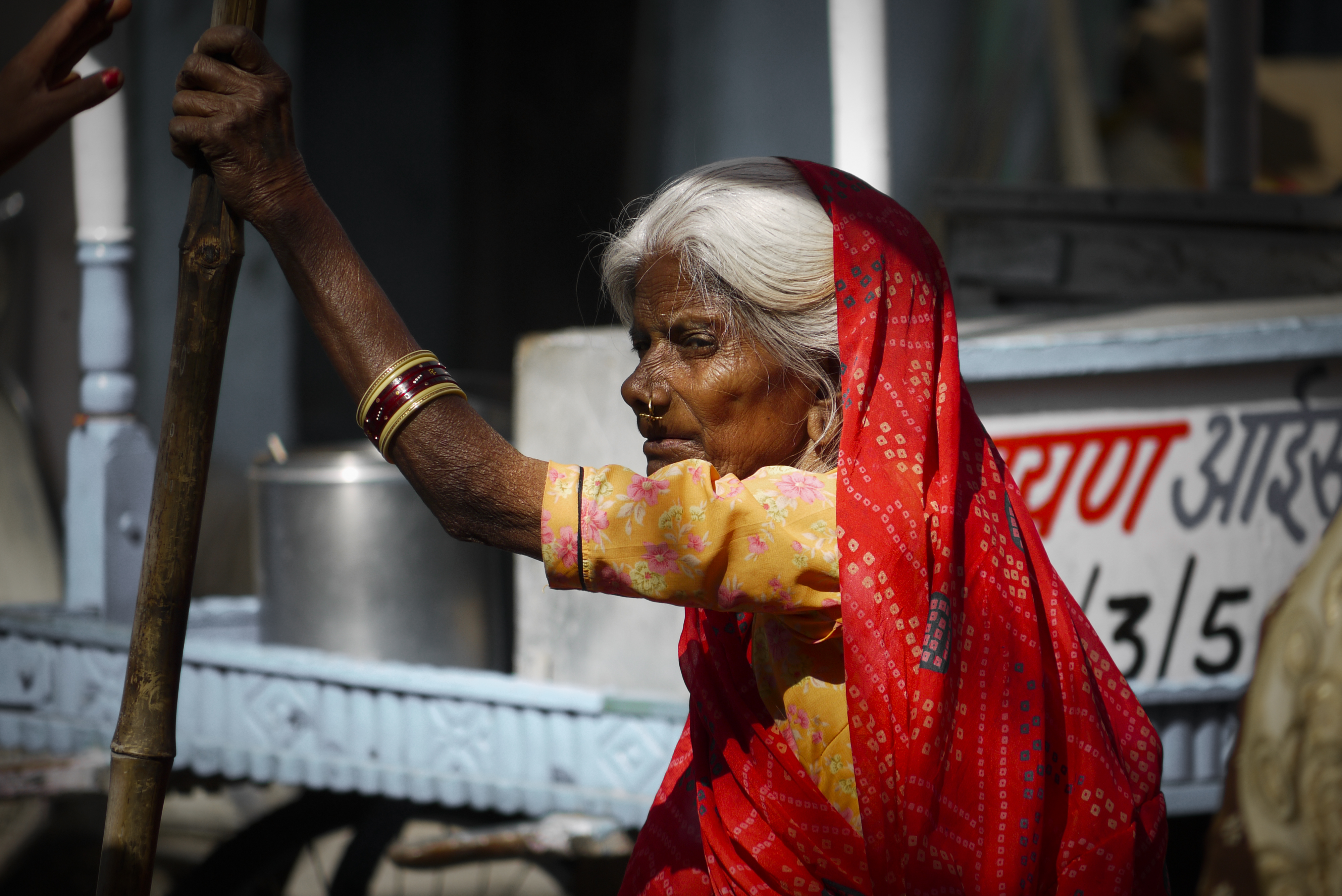 Old woman // India