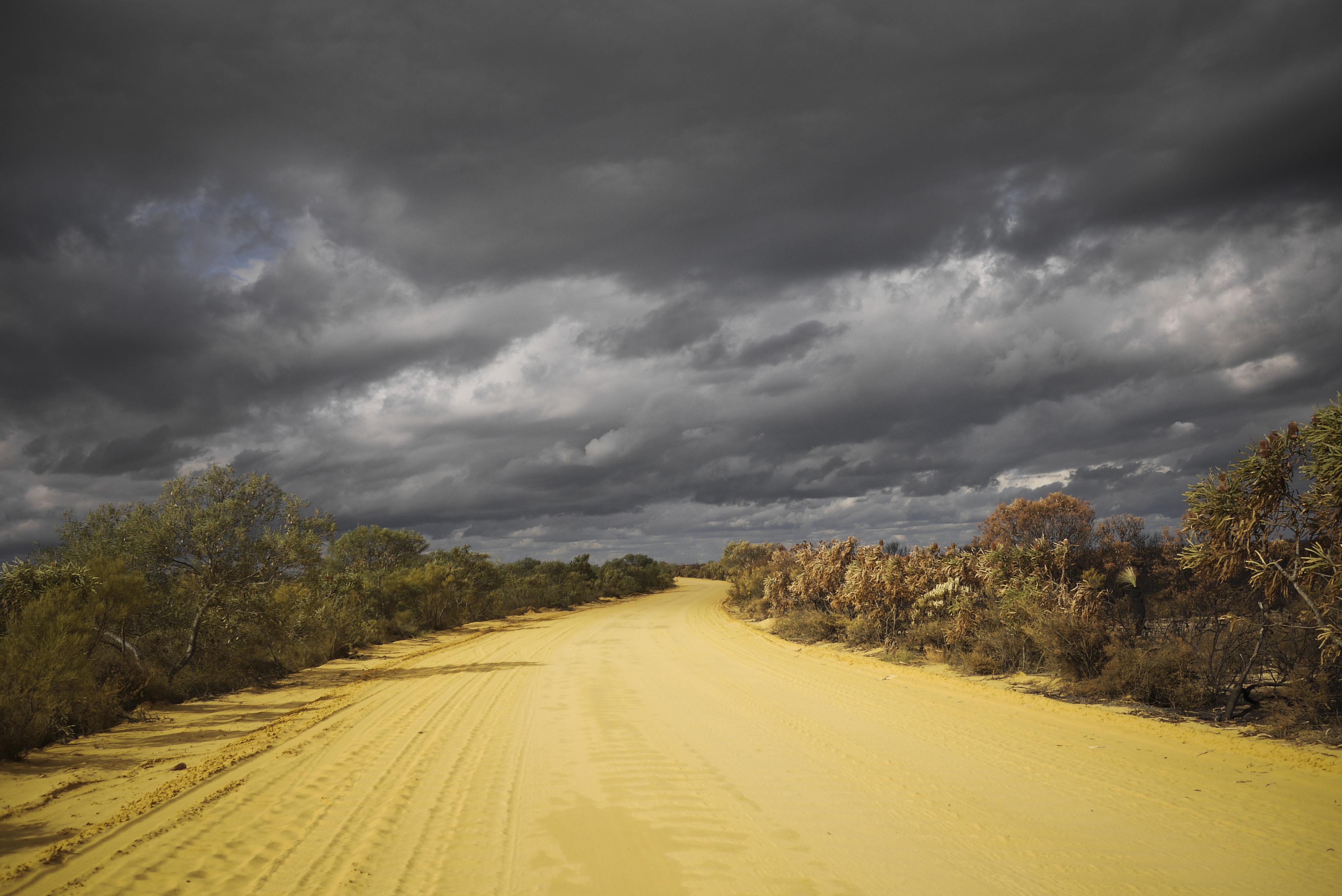 Sandy road // Australia