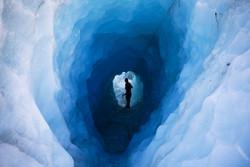 Ice hole // New Zealand