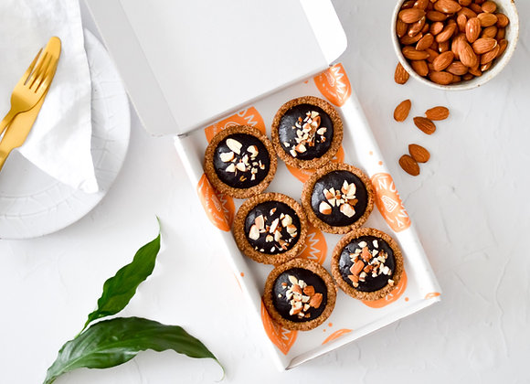 Chocolate Tarts ( 6 tarts)
