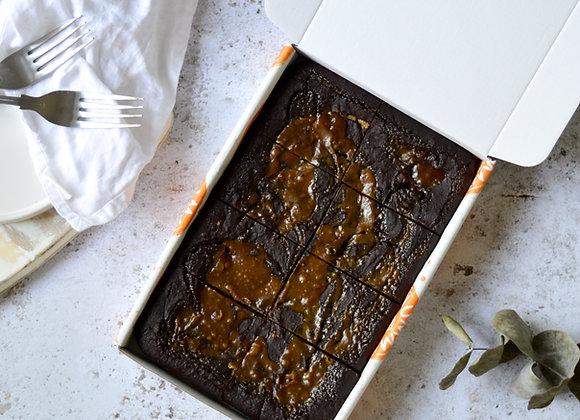 Salted Caramel Biscuit Brownies Box of 8