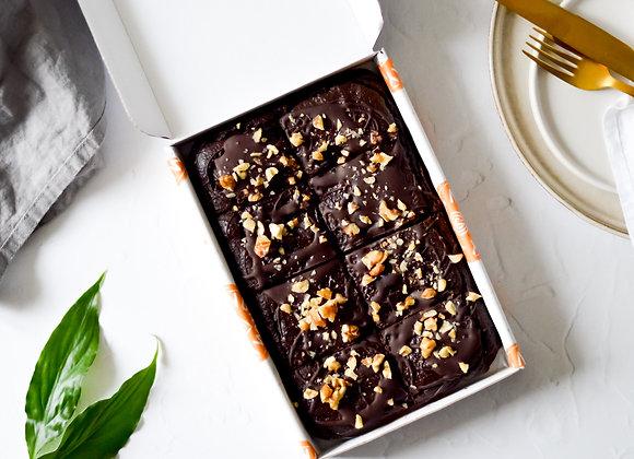Double Chocolate Avocado Brownies Large Box