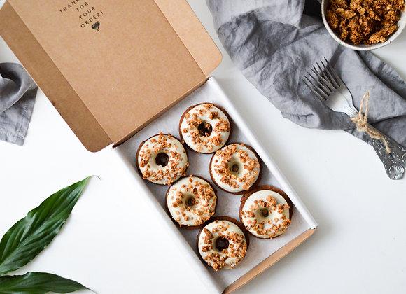 Yogurt and Granola Baked Doughnuts Box of 6