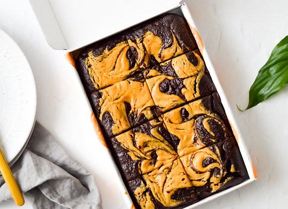Peanut Butter Avocado Brownies Large Box