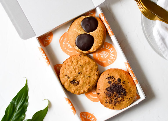 Cookie Trio Box of 6