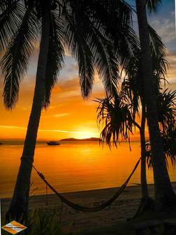 Beqa Island Hammock Sunset