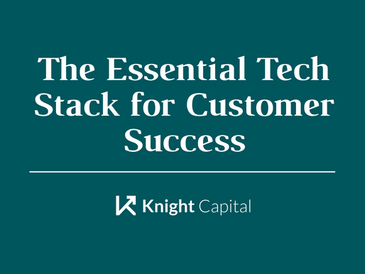 The Essential Tech Stack for Customer Success