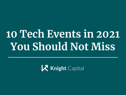 10 Tech Events in 2021 You Should Not Miss