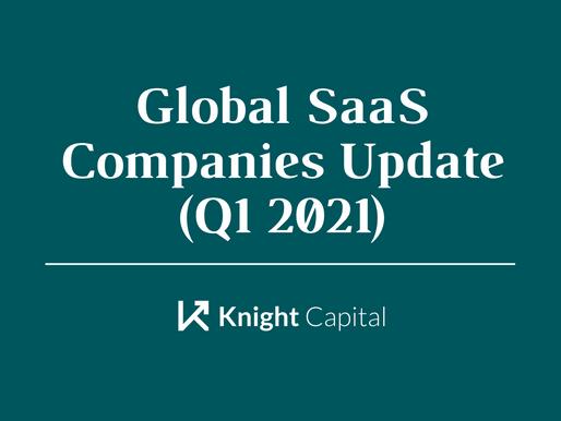 Global SaaS Companies Update (Q1 2021)