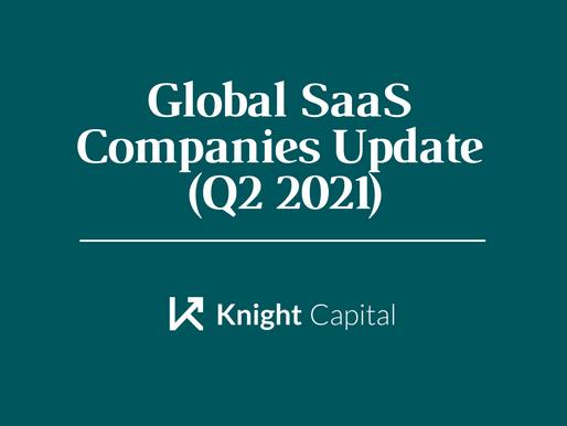 Global SaaS Companies Update (Q2 2021)