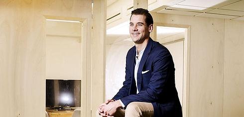 Peter Paul de Leeuw, CEO of Amberscript