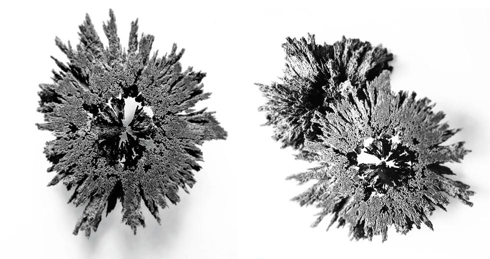 Iron Brooch + Sample