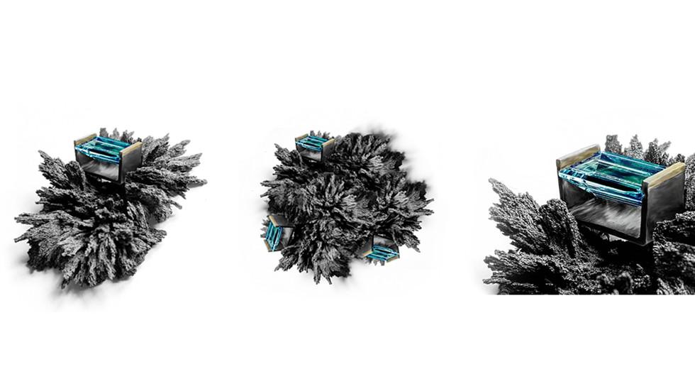 Iron + Aquamarine