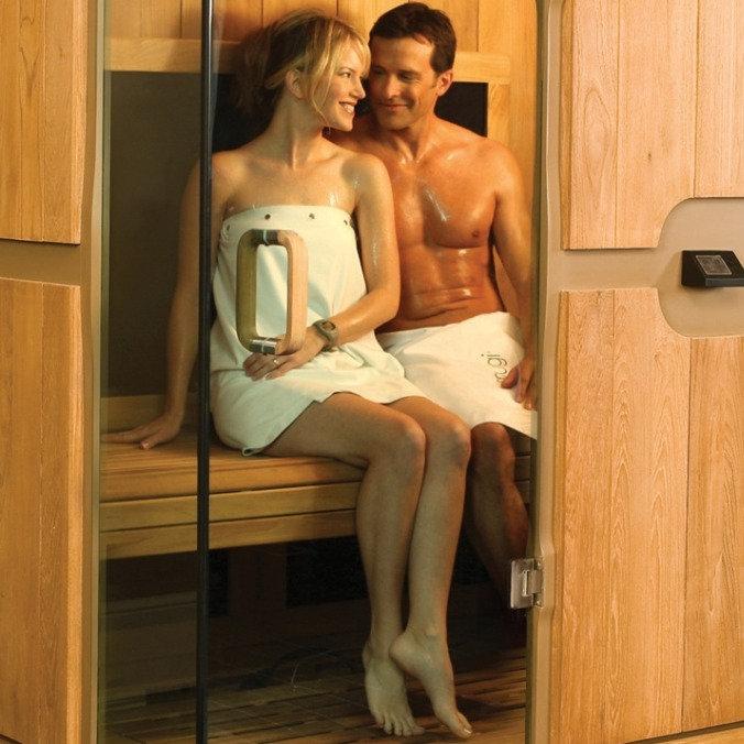 Sauna & Salt Cave Couples Pkg.