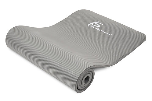 ProSource High Density Extra Thick Yoga and Pilates Mat 13 mm (1/2 in) Thick