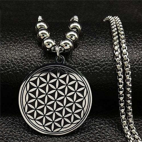 Flower of Life Pendant & Necklace