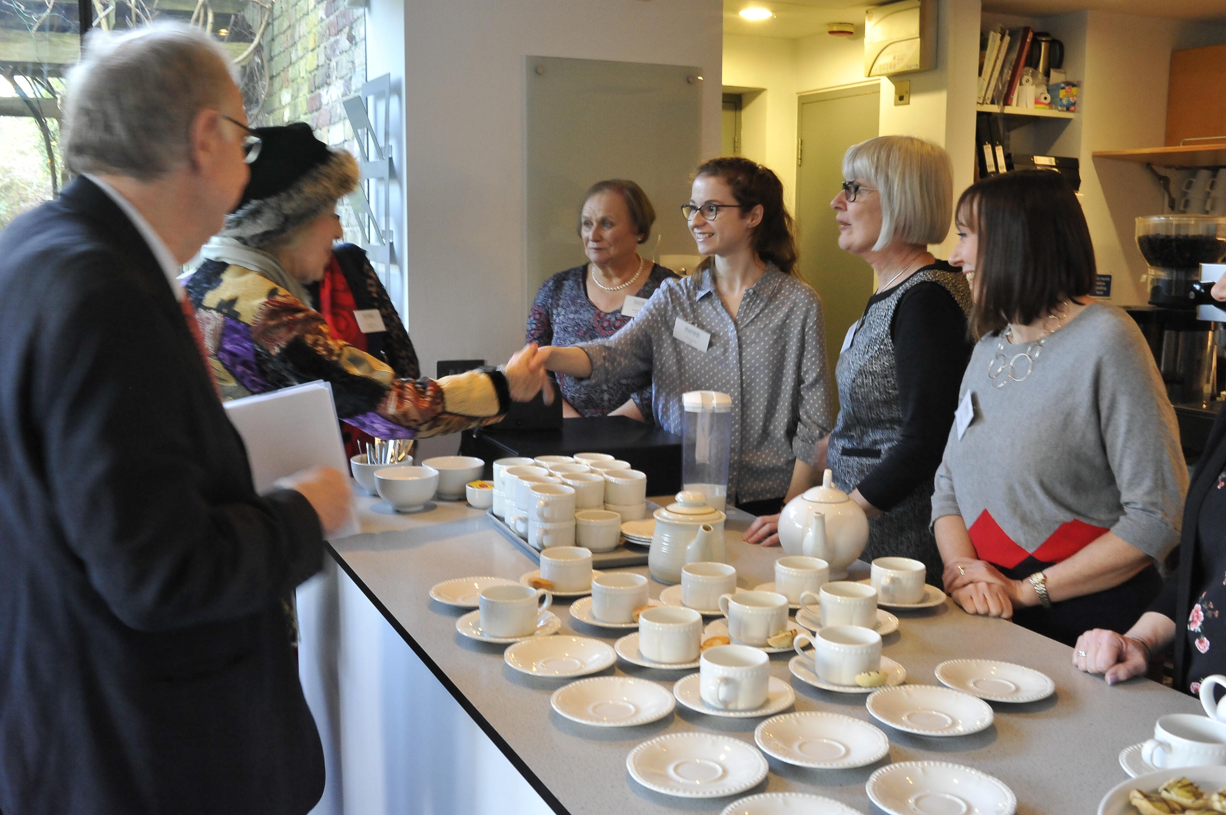 HRH & Café Volunteers