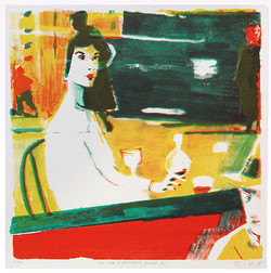Lady at a Table