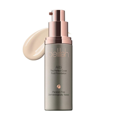 Delilah Makeup Alibi Perfect Cover Fluid Foundation
